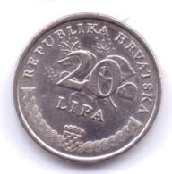 HRVATSKA 2014: 20 Lipa, KM 17 - Croazia