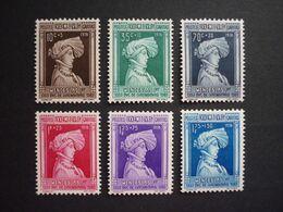 Luxemburg Luxembourg Wenzel I., 1936, Mi 296-301 **, TOP!! (KW: 50,00€) - Nuovi