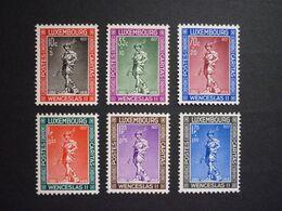 Luxemburg Luxembourg Wenzel II., 1937, Mi 303-308 **, TOP!! (KW: 27,50€) - Nuovi