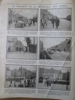Guerre 14-18  WORMHOUDT  Passage Du  PRESIDENT POINCARE - Wormhout