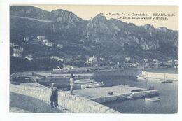 06/CPA A - Beaulieu - Le Port Et La Petite Afrique - Beaulieu-sur-Mer