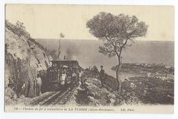 06/CPA A - La Turbie - Chemin De Fer à Crémaillère - La Turbie