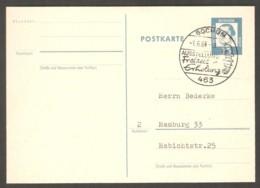 Germany 1964 Bochum - Chess Cancel On Postcard, Traveled - Scacchi