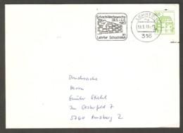 Germany 1983 Lehrte - Chess Cancel On Envelope, Traveled - Scacchi