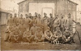 V845Hs   Allemagne Bonn Carte Photo Soldats En 1921 - Bonn