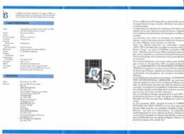 Feuillet Poste FDC 2199 Anniversaire Du 1er Timbre état Indépendant Du Congo Beloeil - FDC