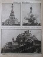 La Guerre 14-18  Eglise Russe Moscovite PRES DE CONSTANTINOPLE  Bombardée Par Les Turcs   Turquie - Non Classés