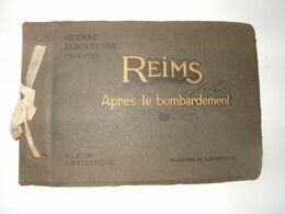 - Reims Aprés Le Bombardement Album Artistique Clichés Lavergne - Altri