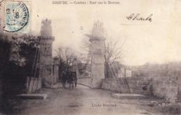 CPA COUTRAS 33 - Pont Sur La Dronne - Altri Comuni