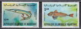 Tr_ Mauretanien 1979 - Mi.Nr. 657 + 659 - Postfrisch MNH - Tiere Animals Fische Fishes - Fishes