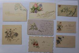8.Glückwunschkärtchen, Neujahr, 1898-1900  ♥  - Neujahr