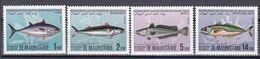 Tr_ Mauretanien 1984 - Mi.Nr. 811 - 814 - Postfrisch MNH - Tiere Animals Fische Fishes - Fishes