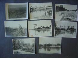 Lot De Photos Anciennes - CONGO - Région De Stanleyville - Kisangani Et Dans Le Parc Albert - Afrika