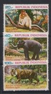 Indonesia - 1977 - N°Yv. 810 à 812 - Faune / Animals - Neuf Luxe ** / MNH / Postfrisch - Zonder Classificatie