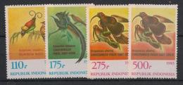 Indonesia - 1983 - N°Yv. 1009 à 1012 - Oiseaux / Birds - Neuf Luxe ** / MNH / Postfrisch - Non Classificati