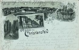 AK - CHRISTIANSFELD - Mehrbild - 1899 - Nordschleswig