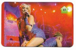 Spice Girls, U.K. Prepaid Phone Card, PROBABLY FAKE, # Spicegirls-7 - Music