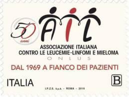 Italia - 2019 - Usato/used - AIL - 6. 1946-.. Repubblica