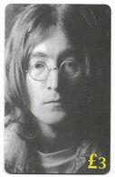 The Beatles, ET Telecard, U.K. Prepaid Phone Card, PROBABLY FAKE, # Beatles-17 - Music