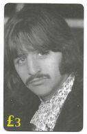 The Beatles, ET Telecard, U.K. Prepaid Phone Card, PROBABLY FAKE, # Beatles-19 - Music