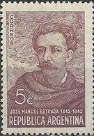 ARGENTINA 1942 Birth Centenary Of Estrada (patriot) - 5c - Jose Manuel Estrada MNH - Unused Stamps