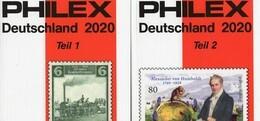 Kataloge PHILEX 2020 Deutschland 1+2 Neu 20€ D Altdeutschland DR 3.Reich Besetzung Saar AM-/BI-/SBZ DDR Berlin BUND - Creative Hobbies