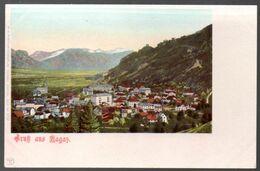 Alte Postkarte,Schweiz,GRUSS AUS RAGAZ, St.Gallen, Ungebraucht - SG St. Gall