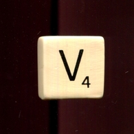 Feve A L Unite Scrabble De Luxe N3 / 1.0p17f1 - Altri