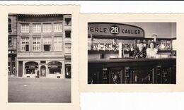 """Liège Quai De La Goffe 1948 """"A L'enclume"""" 9 X 6 - Orte"""