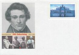 BRD / Bund DP Ganzsachenumschlag 2004 Ernst Rietschel Luther - Denkmal Goethe-Schiller-Denkmal Weimar Semper-Oper - [7] Federal Republic