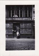 """Liège Quai De La Goffe 1944 """"vitrines Opaques étage Vitres """"tolées"""""""" 10.5 X 7.5 Café Gregay - Orte"""