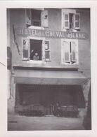 Privas Hôtel Du Cheval Blanc 1940 (9 X 6) - Places
