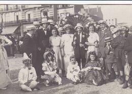 "Knocke Knokke 1910 ""carnaval Travesti"" Photo Carte - Plaatsen"