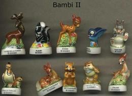 Serie Complete De 10 Feves Bambi II - Disney