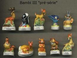 Serie Complete De 10 Feves Bambi III Preserie - Disney