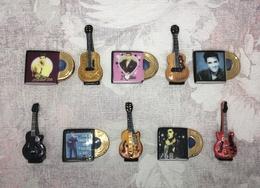 Serie Complete De 10 Feves Elvis Presley  Love Me Tender - Personnages