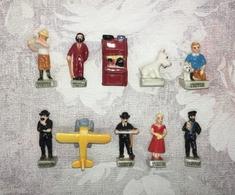 Serie Complete De 10 Feves Tintin 2014 - BD