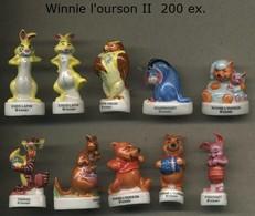 Serie Complete De 10 Feves Winnie L Ourson II - Disney