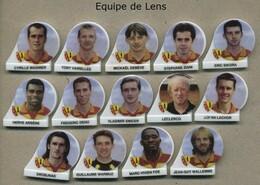 Serie Complete De 14 Feves Equipe De Lens - Sports