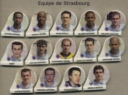 Serie Complete De 14 Feves Equipe De Strasbourg - Sports