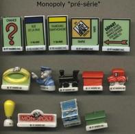 Serie Complete De 14 Feves Monopoly Preserie - Altri