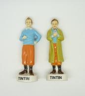 Serie Complete De 2 Feves Tintin Medium - Fèves