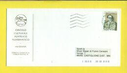 STORIA POSTALE-ISOLATI SU BUSTA -2001-2010 - 2001-10: Marcofilia