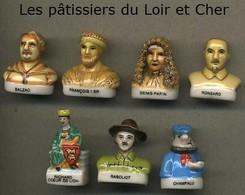 Serie Complete De 7 Feves Les Patissiers Du Loir Et Cher - Regiones