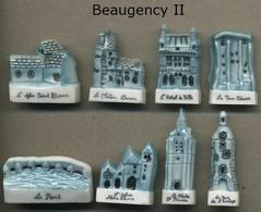 Serie Complete De 8 Feves Beaugency II - Regiones