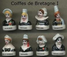 Serie Complete De 8 Feves Coiffes De Bretagne I - Regiones