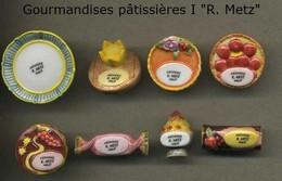 Serie Complete De 8 Feves Gourmandises Patissieres I R. Metz - Regiones
