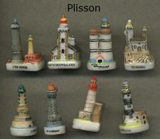 Serie Complete De 8 Feves Plisson - Regiones
