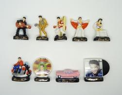 Serie Complete De 9 Feves Elvis Presley - Personnages