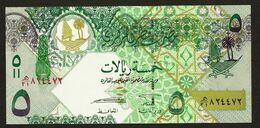 """5 Riyal  """"QATAR""""    UNC     Bc 76 - Qatar"""